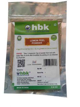 100 g Lemon Peel Powder Online at best price - hbkonline.in