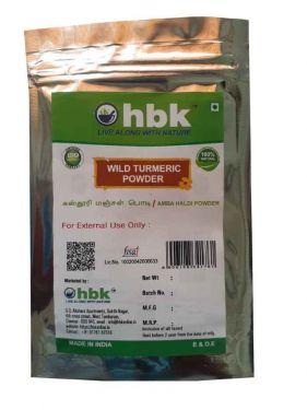 50 g Wild Turmeric  / Amba Haldi Powder - hbkonline.in