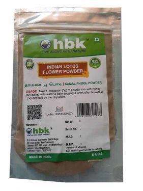 50 g Lotus Flower / Thamarai Poo Powder - hbkonline.in