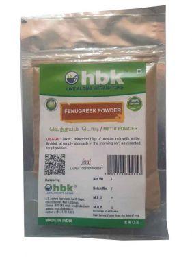 50 g Fenugreek / Venthayam / Uluva Powder - hbkonline.in