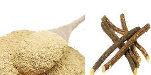 Licorice Powder / Athimadhuram Ver Powder / Yashtimadhukam / Mulethi / Yashtimadhu / Iratimadhuram