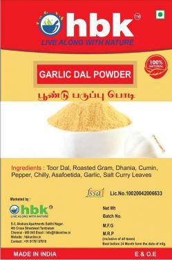 100 g Garlic Dal / Poondu Paruppu Powder Online at best price - hbkonline.in