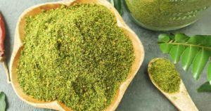 Curry leaves Powder / Karuveppilai Powder / Karivepaku / Kadi Patta / Karibevu / kariveppila / Girinimba