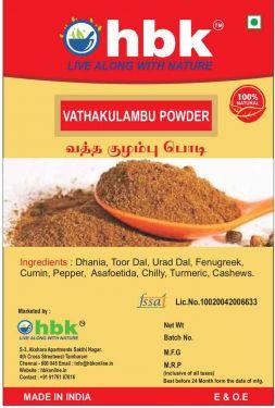 Buy 100 g Home Made Vatha Kulambu Powder Online at low price - hbkonline.in